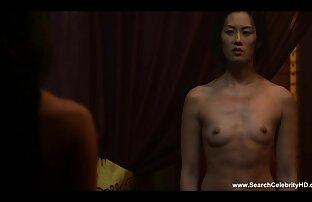 دختر, داغ فیلم های کم حجم سکسی مگان باران Grik, پس از تمرین